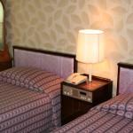 高麗ホテルのツインルーム