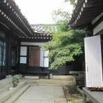 開城の朝鮮伝統家屋