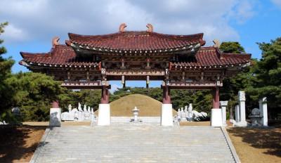 東明王陵(高句麗初代王) 世界文化遺産