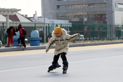 ローラースケート場3