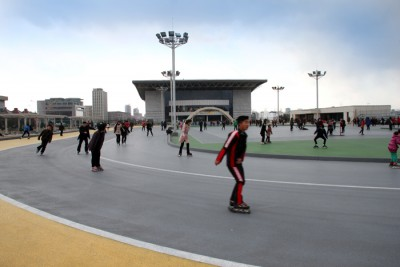 ローラースケート場1