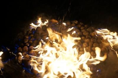 ハマグリガソリン焼