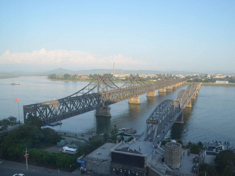新義州と丹東を結ぶ朝中友誼橋
