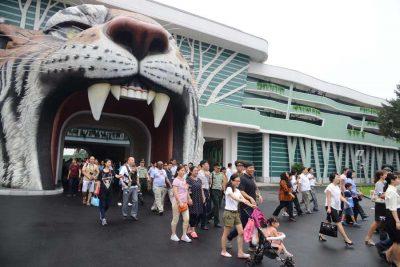 今年の夏にリニューアルオープンした中央動物園