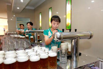 朝鮮名産テドンガンビール