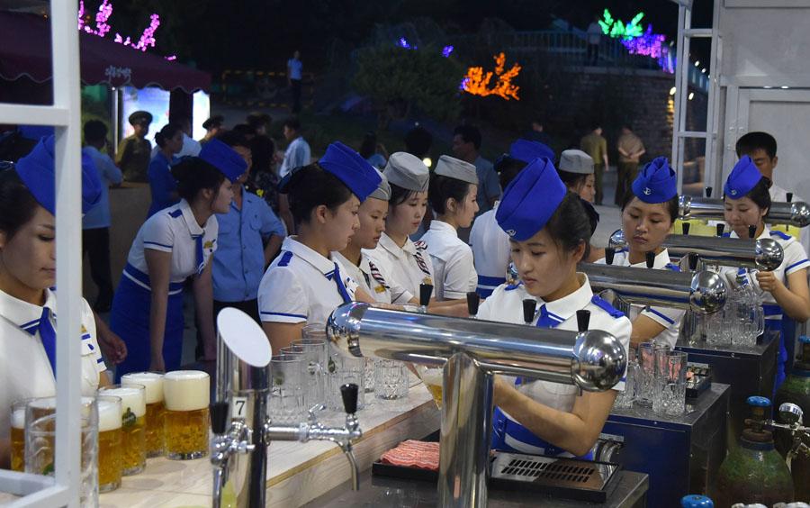 大同江ビール祭