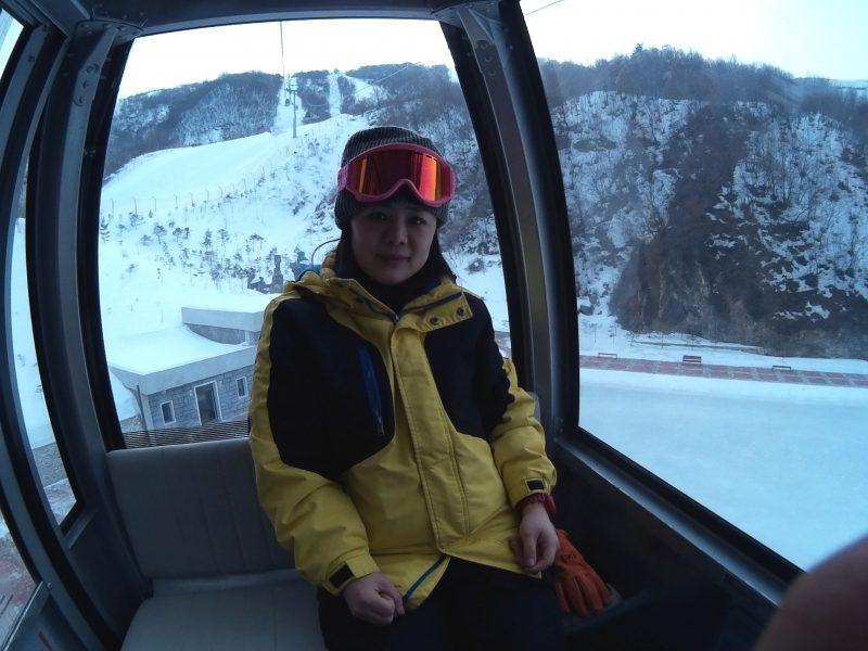 私を馬息嶺スキー場に連れてって!