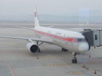 高麗航空の主力機、ツポレフ204-100
